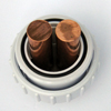 IONIZER ELECTRODE MODEL CPIC1-RS COPPER W/ UNION FITTING