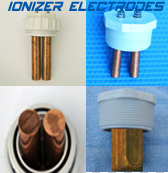 Electrodes for pool and Spa, swim Spas, and exercise pools anodes cathodes